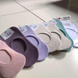 BN Korean Ladies Low Invisible No Show Non-slip Pretty Socks - Made in Korea