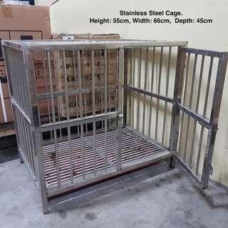 100% Brand New~ ~ Stainless Steel Cage ~  ~ Free Delivery