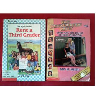 Rent a Thord Grader / Baby Sitters Club