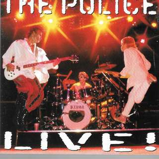 MY PRELOVED CD -2 CDS THE POLICE LIVE / FREE DELIVERY (F3E)