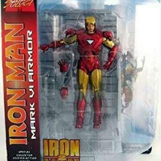 Marvel Diamond Select Iron Man Mark VI