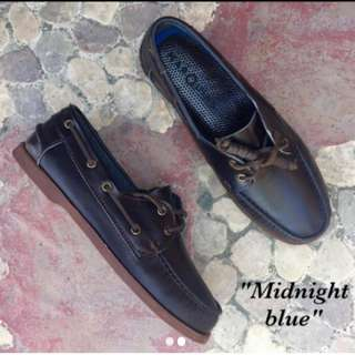 Boat Shoes - Midnight Blue