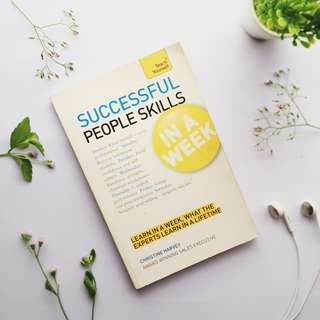 Successful people skills in a week by Christine Harvey