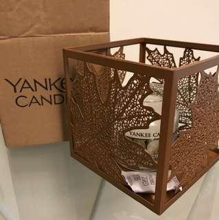 Yankee Candle Holder - Autumn leaves - USA