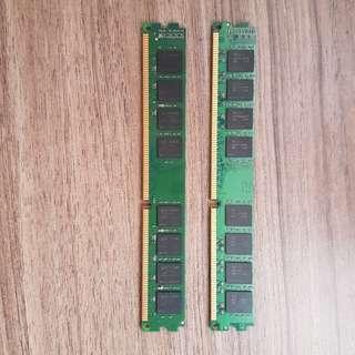 DDR 3 1333mhz 8GB ram