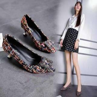 Korean Shoes with 1.5 inches heels