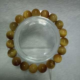 Honey tiger bracelet
