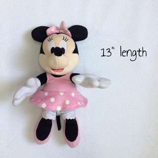 FREE SHIPPING [LIKE NEW] Disney Minnie Mickey Soft Toys | Anak Patung | Doll | Dolls | ToysRUs
