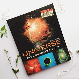 Universe the cosmos explained by Colin A.Ronan