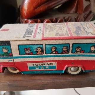 Vintage Friction Tin Toys