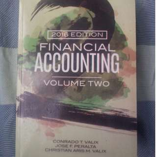 Financial Accounting Volume Two by Valix