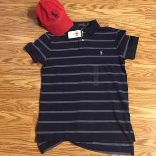 👕🔥💯% authentic polo ralph lauren shirt navy
