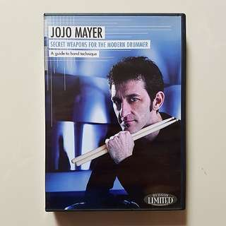 Drum DVD: Jojo Mayer Secret Weapons For The Modern Drummer
