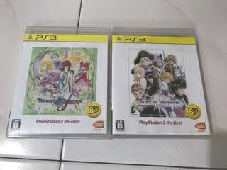PS3 games Tales Series