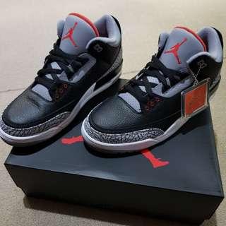 Jordan 3 Black Cement Retro OG 11.5