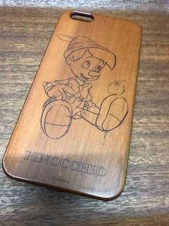 小木偶 iphone6plus 木製電話殻