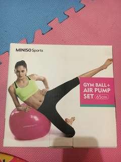 Gym Ball and air pump
