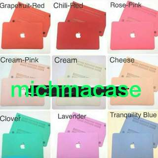Macbook case Creampink