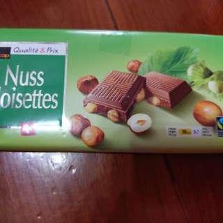 Muss Noisettes榛子朱古力100g