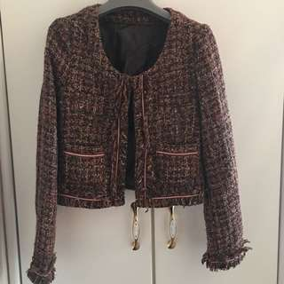 Nice Claup Tweed Coat