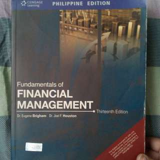 Fundamentals of Financial Management by Brigham and Houston