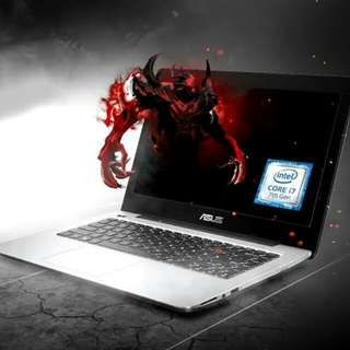 Asus A442UQ Ram 8Gb HDD 1Tb Win 10 Ori Cicilan Home Credit