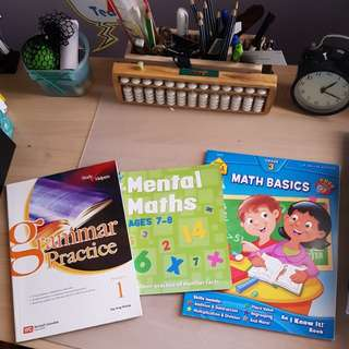 Lower Primary Maths and English Books