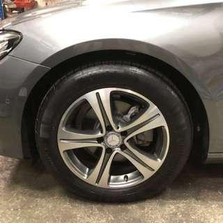 Brand New E200 Mercedes 17 Rim + Tyres