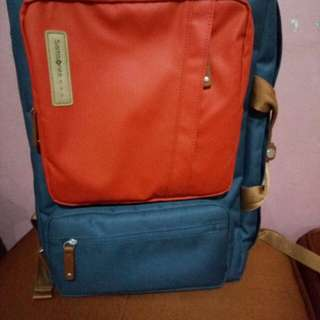 Authentic samsonite red