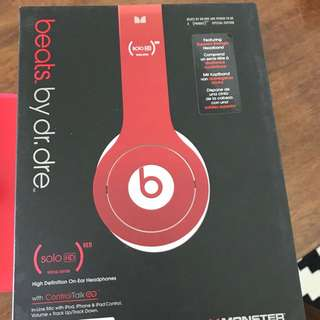 Beats Solo HD (red edition)