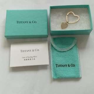 Tiffany 心型匙扣(絕版)