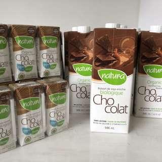 Natura Organic Soy Milk(Chocolate)
