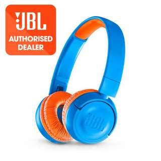 JBL JR300BT Bluetooth Wireless headphone for kids volume limit 85dB - 12 Months Singapore Warranty
