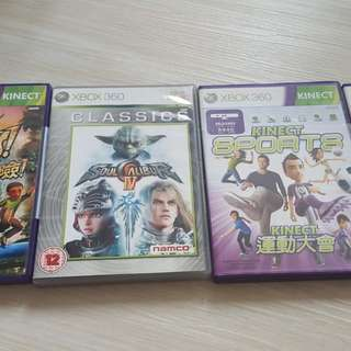 Xbox 360 Games Assorted