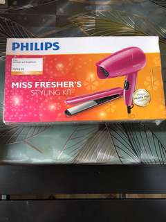 philips hairstyling kit! brand new
