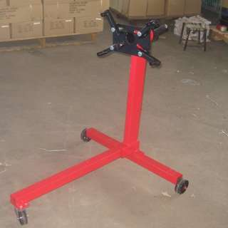 Heavy duty showroom engine   stand 1000  lbs  model 31541