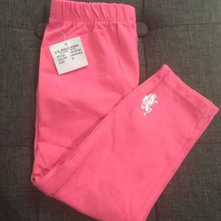 Us Polo legging for 2 yrs old