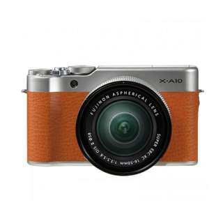 Fujifilm X-A10 with 16-50mm f3.5-5.6 OIS II Kredit Dp ringan tanpa CC