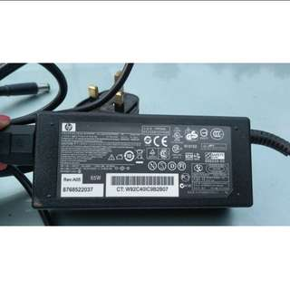 HP Adapter Charger with power cord (only use for 2 months)