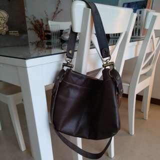 Leather Bag (2 way)