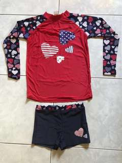Heart Themed Rashguard