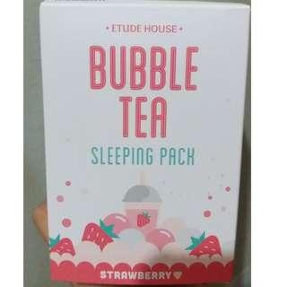 Etude House - Bubble Tea Sleeping Pack