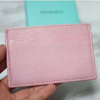 TIFFANY & CO BABY PINK CARD HOLDER 卡片套CHANEL YSL