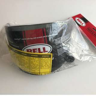 BELL BULLITT FLAT SHIELD/Visor - DARK SMOKE
