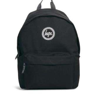 Hype 黑色後背包