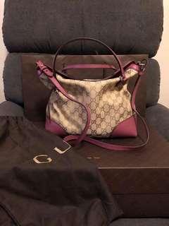Gucci bree tote bag, 2 ways