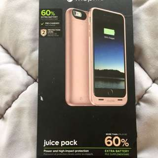 Mophie Juice pack charging case for Apple iPhone 6/6s plus