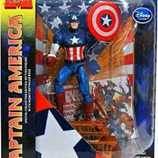 Marvel Diamond Select Disney Store Captain America