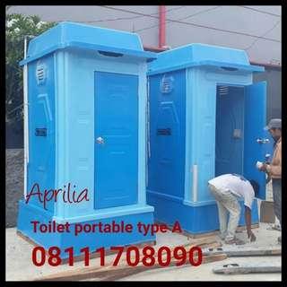 Toilet portable fiberglass