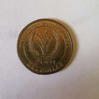 Australia 2001 commemorative coin